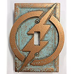 The Flash - Light Switch Cover (Aged Patina)