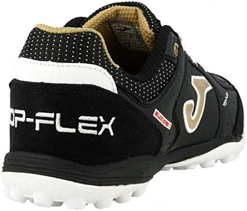 Joma Top Flex Turf, Zapatilla de fútbol, Black-Gold: Amazon.es: Zapatos y complementos