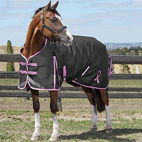 - Weatherbeeta Comfitec Plus Breast Cancer Foundation Standard Neck Medium, Black/Pink, 66