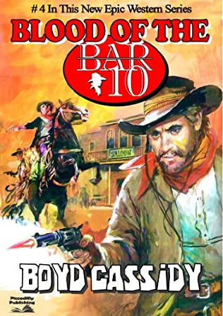 book cover of Blood On the Bar 10