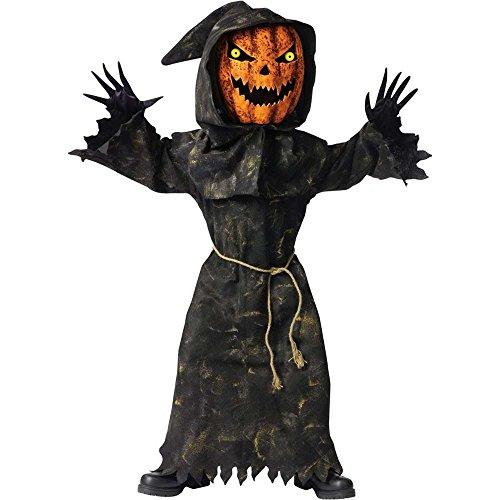 Bobble Head Pumpkin Child Costume (Bobble Head Pumpkin Child Costume - Large)