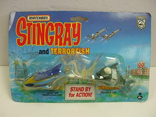 Matchbox Vintage Stingray 2 pack 'Stingray and TerrorFish