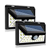 Perkisboby Solar Lights Outdoor 32 LED Wireless Waterproof Security Solar Motion Sensor Lights(Pack of 2)