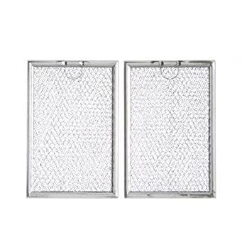Grease Filter WB06X10309 Replacement For Many GE Microwaves - 2 Pack
