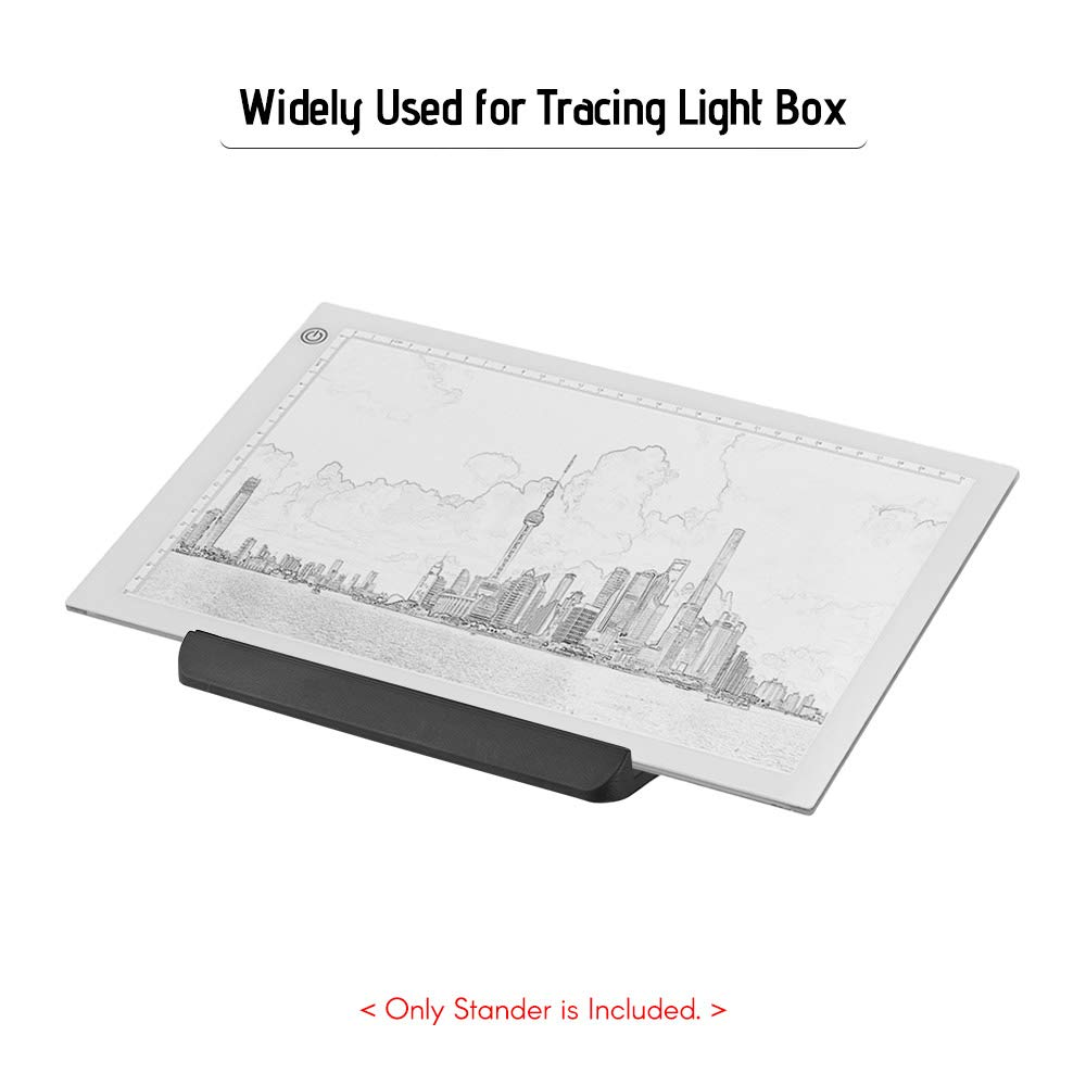 Entweg Light Box Pad Stander Laptop Stand Multifunction Rotate in 360/° Adjusting 8 Angle Points Skidding Prevented Tracing Holder Stand for LED Tracing Light Box A3 A4 LB4 L4S