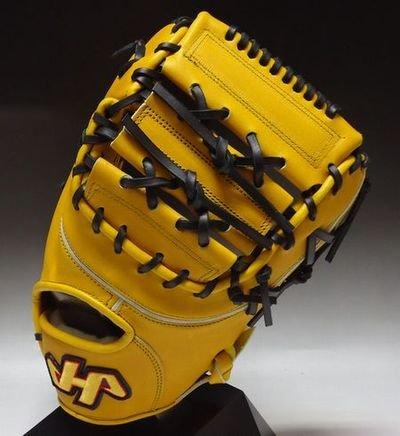 HATAKEYAMA 一般硬式 一塁手用 品番:K-F1 B00M9XH8CO K-F1YB: Jイエロー/右投げ:LH K-F1YB: Jイエロー/右投げ:LH