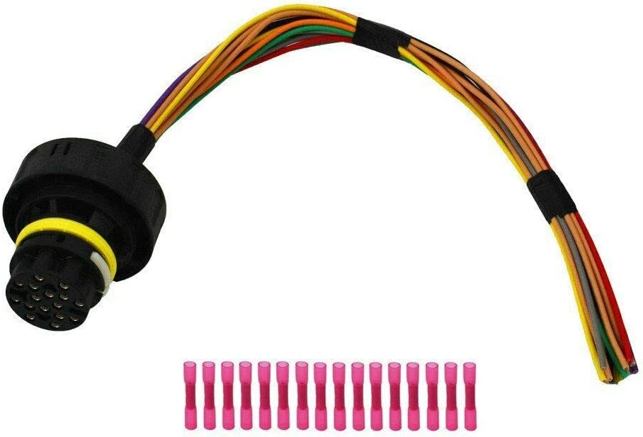 amazon.com: 6r60 6r80 6r75 harness repair kit pigtail wiring harness plug  in connector: car electronics  amazon.com