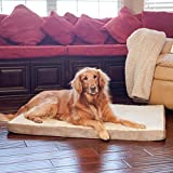 "Large 46"" X 32"" Orthopedic Memory Foam Dog Pet Bed"