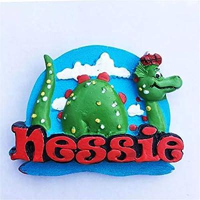 Hqiyaols Souvenir Nessie Ness Monster Reino Unido Inglaterra 3D ...