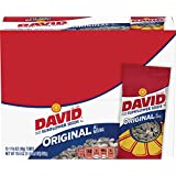 David Sunflower Seeds, Original, Roasted & Salted, 1.625-Ounce Tubes (Pack of 12)