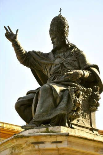Paul Pope Statue (Statue of Pope Paul V in Rimini, Italy Journal: 150 page lined notebook/diary)