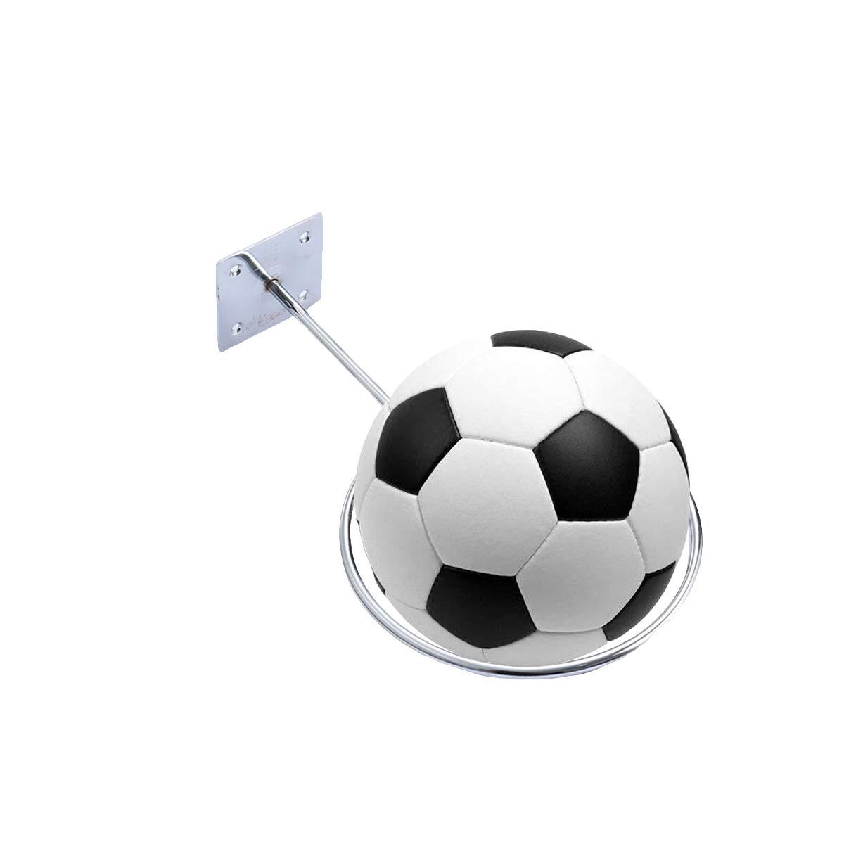 VORCOOL Soporte de Pared para Balón de Baloncesto de Fútbol, Balón ...