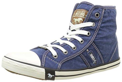 Mustang 5803-503-841 - Zapatillas de deporte Unisex Niños Azul (841 Jeansblau)