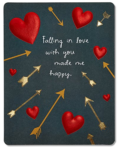 Valentines day cards american greetings hearts and arrows valentines day card with foil 5815819 m4hsunfo