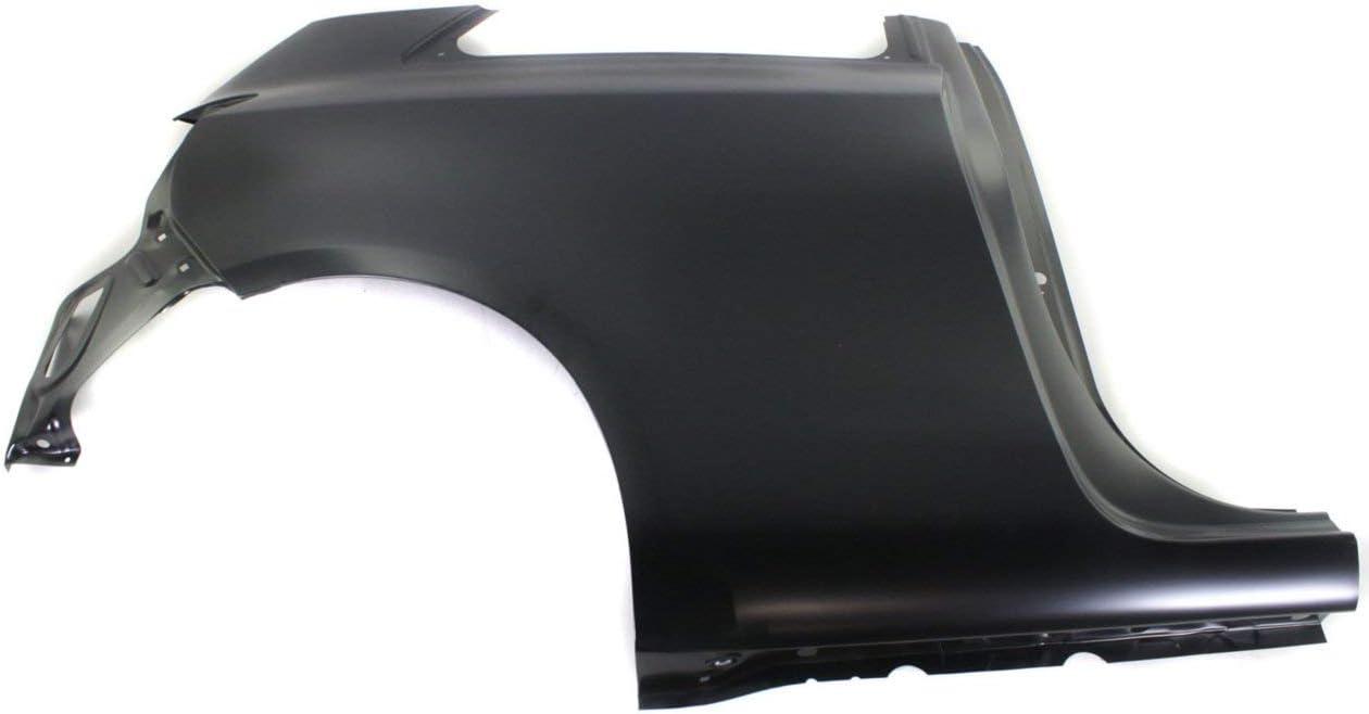 Fender For 2007-2011 Toyota Yaris Hatchback Front Driver Primed Steel