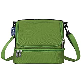 Wildkin Two Compartment Lunch Bag, Parrot Green (B0084DZ54G) | Amazon price tracker / tracking, Amazon price history charts, Amazon price watches, Amazon price drop alerts