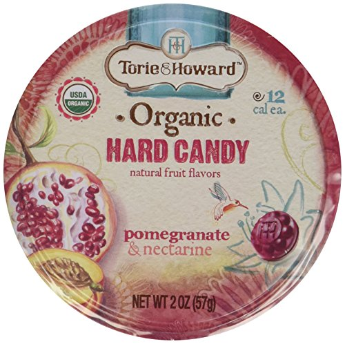 Organic Hard Candy Pomegranate and Nectarine 2 Ounces (Case of 8)