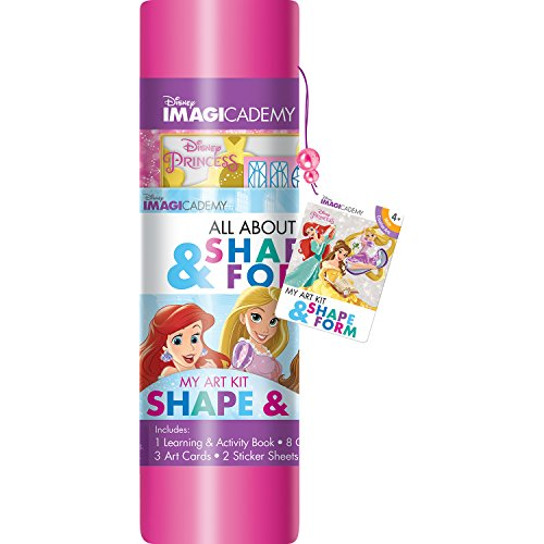 Shapes About (Bendon Learning Disney Princess All About Shapes & Forms Coloring Art Kit)