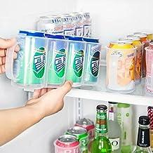 Beverage Storage Rack Beer Soda Can Holder Refrigerator Save Space Organizer Organization