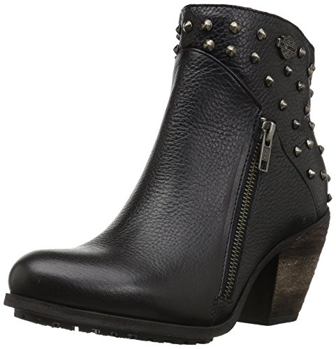 (Harley-Davidson Women's Wexford Fashion Boot, Black, 7.5 M US )