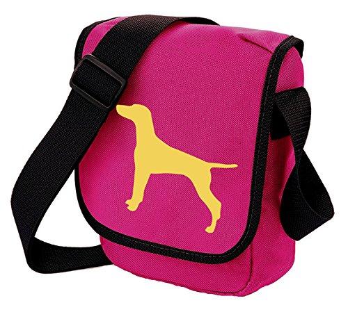 Shoulder Bag Gift Bag Bag Reporter Dog Pink Vizsla Vizsla Colours Bag Vizsla Choice of Hungarian Silhouette XqFw1nSn