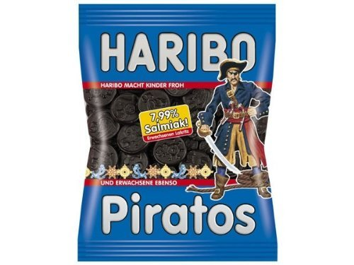 4x Haribo PIRATOS each Bag 200g (German Import)