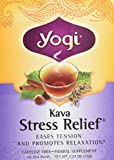 Yogi Kava Stress Relief Tea Bags, 16 Bags - 2 Pack