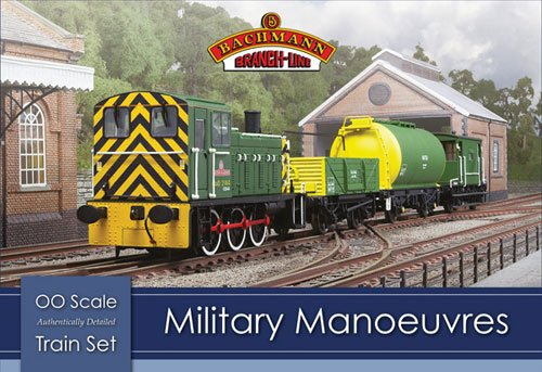 Branch-Line 30-130 Military Manoeuvres OO Scale Train Set