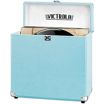 Amazon Com Victrola Vintage Vinyl Record Storage Carrying