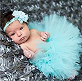 Princess Style Cute Tutu Skirt + Head Flower Infant Newborn Baby Girl Photo Photography Costume Prop