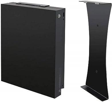 Soporte de Pared Vertical Negro para Consola Xbox One X, Soporte ...