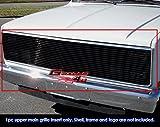 81 chevy truck grill - 81-87 Chevy GMC Pickup/Suburban/Blazer/Jimmy Phantom Black Billet Grille Grill