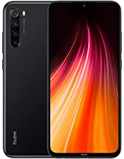 "Xiaomi Redmi Note 8 Smartphone,4GB 128GB Mobilephone,Schermo intero da 6,3"",processore Octa Core Snapdragon 665,Quad Camera (48MP + 8MP + 2MP + 2MP) Versión Global (Nero)"