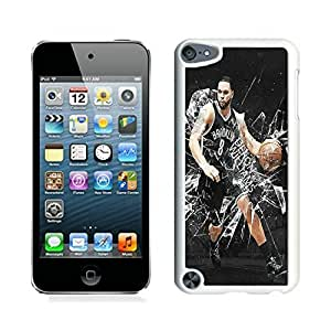 New Custom Design Cover Case For iPod Touch 5th Generation Brooklyn Nets Deron Williams 1 White Phone Case