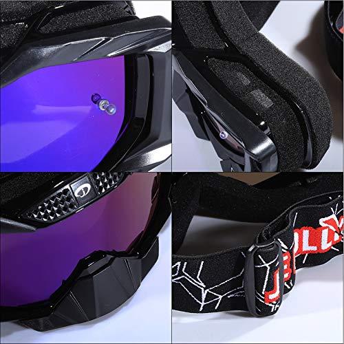 Multicolore Cross Noir pour Blisfille Protection de Orange Lunettes Ski Plein Sport Anti Alpinisme Air Moto Sableux Vent 8qa6wq