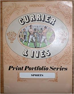 Book Currier & Ives Print Portfolio Series - Sports