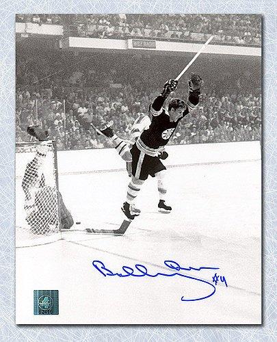 Orr Bobby Merchandise (Bobby Orr Autographed Boston Bruins 1970 Stanley Cup Goal 8X10 Photo: Gnr Coa - Autographed Hockey Photos)