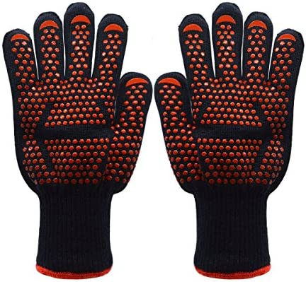 BBQ Glove Waterproof Heat Resistant Potholders
