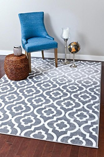Persian Rugs Moroccan Trellis Area Gray product image