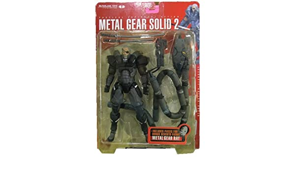 Amazon.com: Metal Gear Solid 2 solidus Snake Ultra Action ...