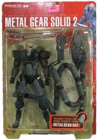 Metal Gear Solid 2 solidus Snake Ultra Action Figure by McFarlane