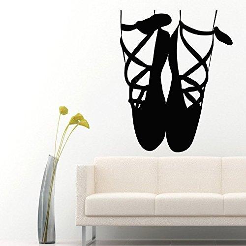 Chambre Autocollant Mural Home Chaussures Stickers Dancing Bébé De Decor Enfants Sport Vinyle En Muraux PqP1fwF