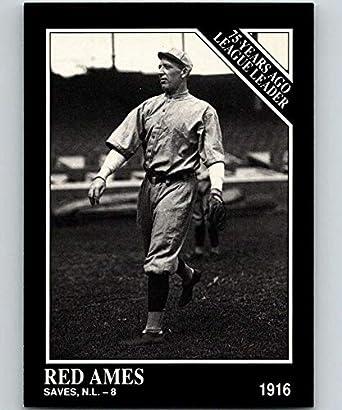 Amazoncom 1991 Conlon Collection 153 Red Ames Ll Nm Baseball Mlb