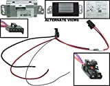 APDTY 112822 Blower Motor Resistor Speed Control Upgrade Module Auto Temp Control 2003-2009 Hummer H2 04-07 Buick Rainier 2002-2009 Chevrolet Trailblazer or GMC Envoy Olds Bravada 15-80655, 19329838
