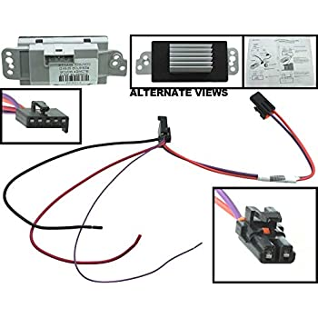 amazon com updated havc blower motor resistor for gmc chevrolet  at Ac Blower Resistor Motor Wire Harness 2006 Chevy Trailblazer
