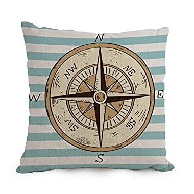 Nautical Throw Pillow Covers 12 X 20 Inches / 30 By 50 Cm Gift Or Decor For Father,festival,couples,pub,dance Room,father - Double Sides