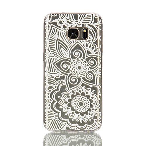 360 Full Hard Plastic Case for Samsung S7 Edge (White) - 3