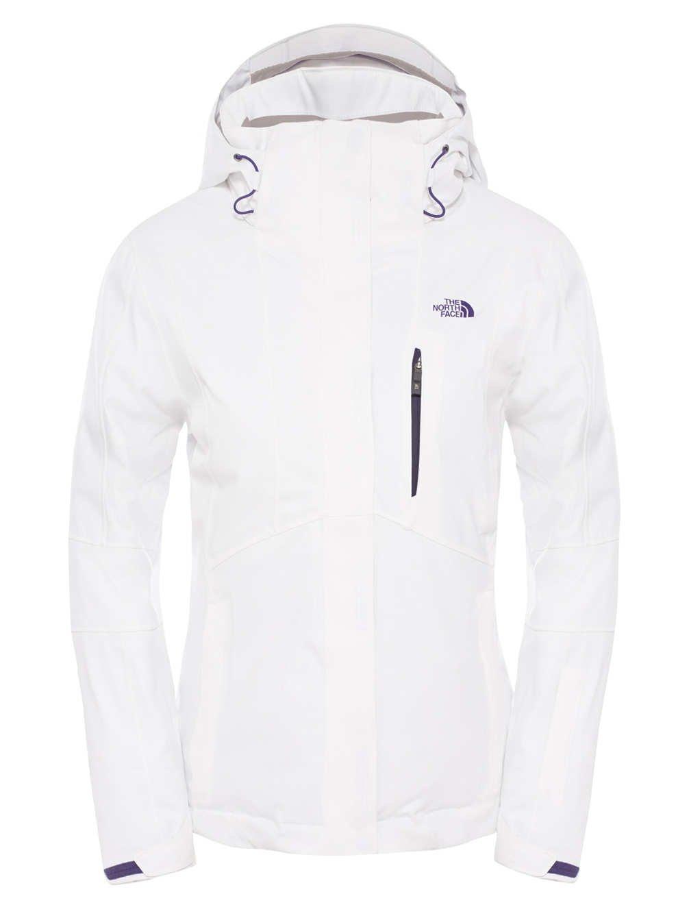 Women's Jacket White North Size Face Ravina W xs qwABztI