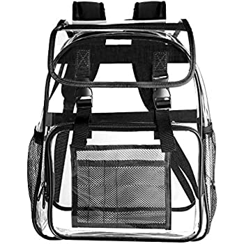 Amazon.com: Heavy Duty Clear Backpack, Transparent Cold