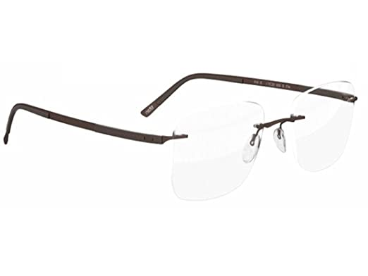b23d8c5650a Image Unavailable. Image not available for. Color  Silhouette Eyeglasses  Titan Contour ...